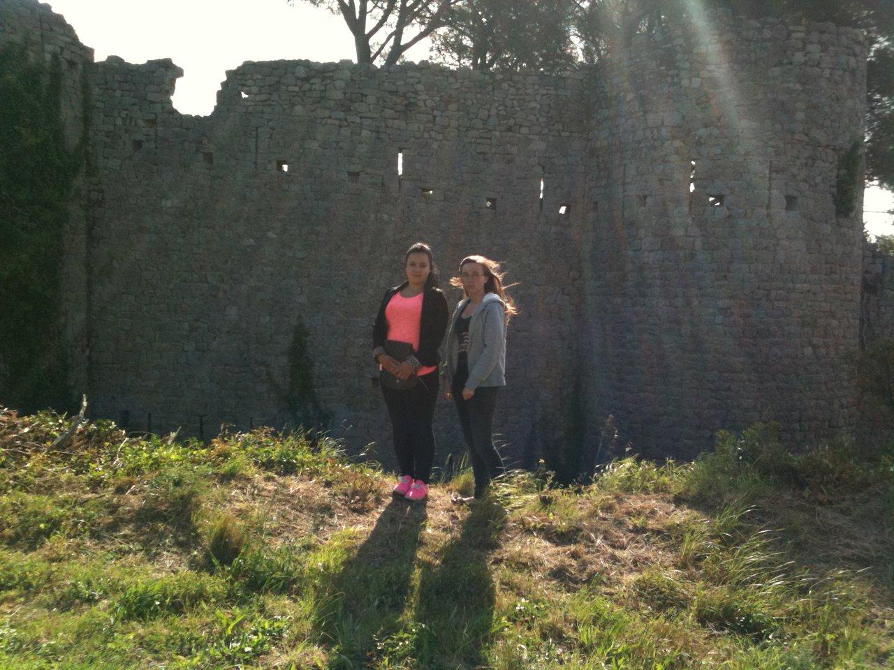 Sortie au château
