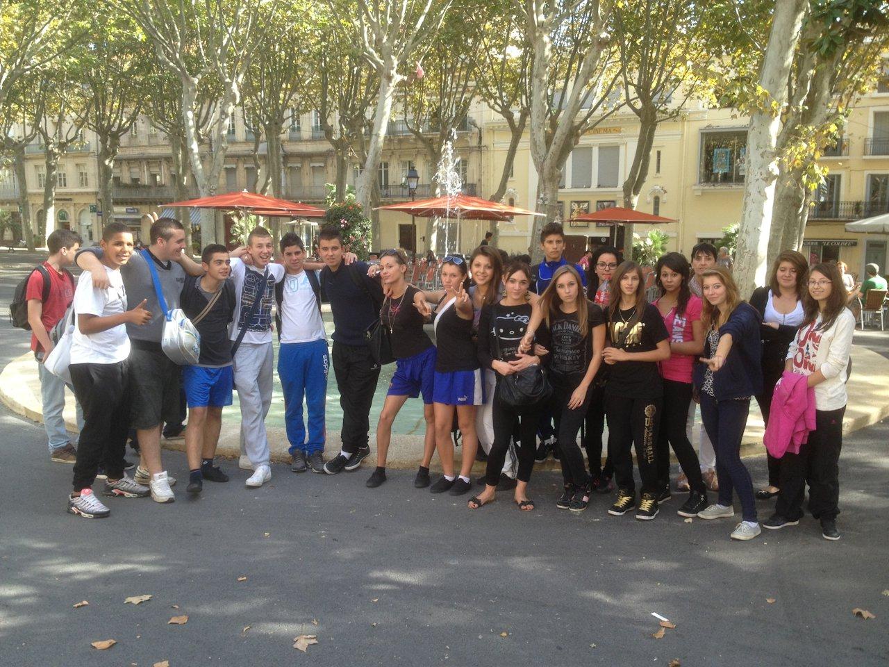 Sortie à Sète (cours d'Education Socio-Culturelle)