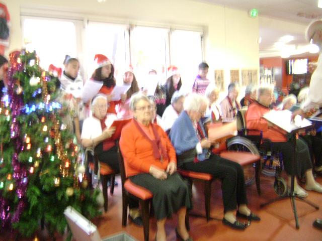 Noël maison de retraite Ronzier Joly